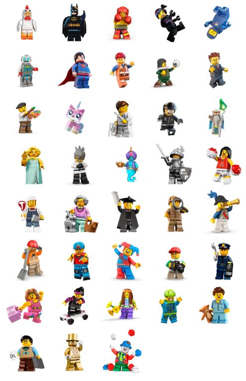 LEGO Minifigures   Stickers Telegram