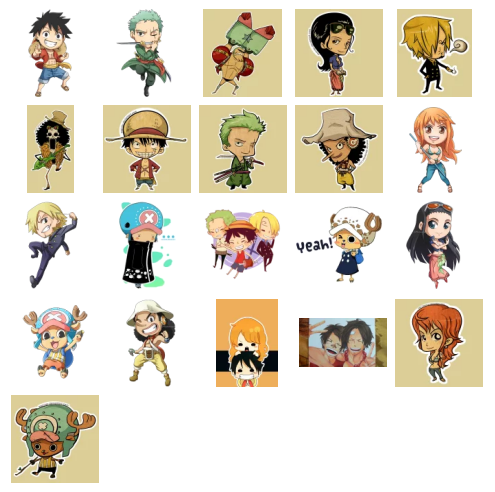 One piece stickers telegram - Stickers muraux one piece ...