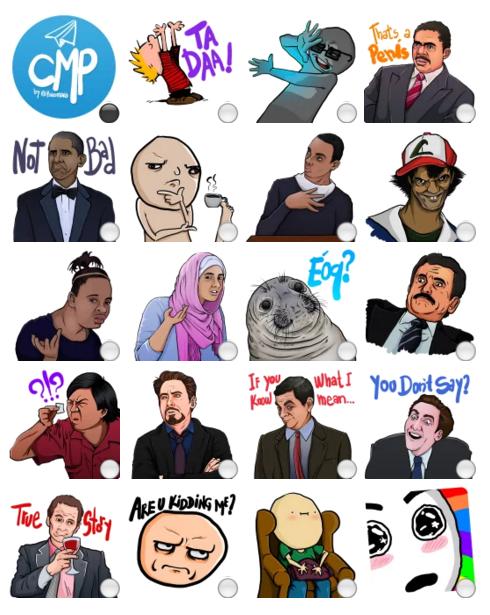 meme meme stickers telegram